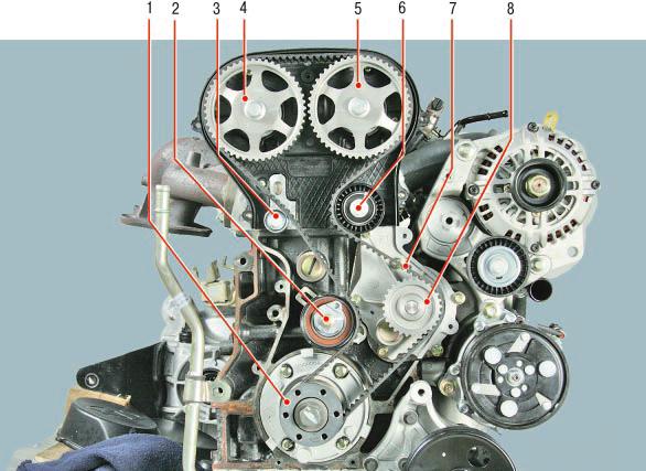 Двигатель Чери Тигго